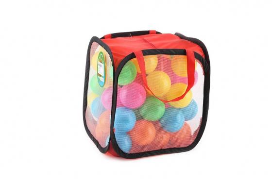 60 Spielbälle - Regenbogen