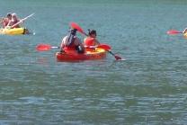 Kajaktour für 3 Personen - auf dem Bielersee