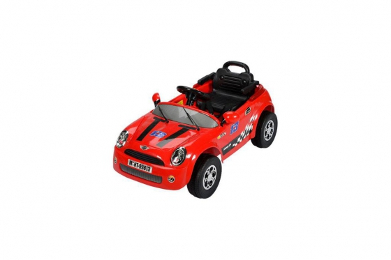 Elektroauto - Rot