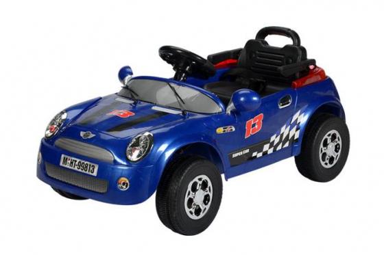 Elektroauto - Blau