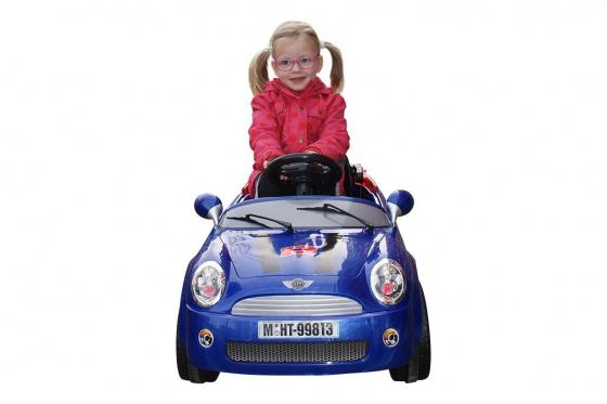 Elektroauto - Blau 1