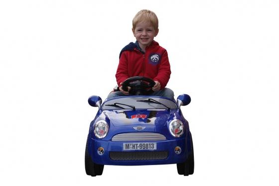 Elektroauto - Blau 2