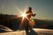 Abend- oder Vollmondschneeschuhtour-mit Fondueplausch und Bockerlabfahrt 1 Person 2