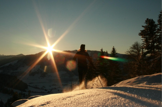 Abend- oder Vollmondschneeschuhtour - mit Fondueplausch und Bockerlabfahrt 1 Person 2 [article_picture_small]