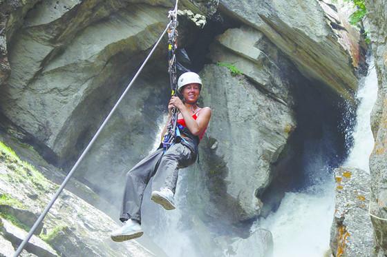 Klettersteig Wallis : Klettersteig
