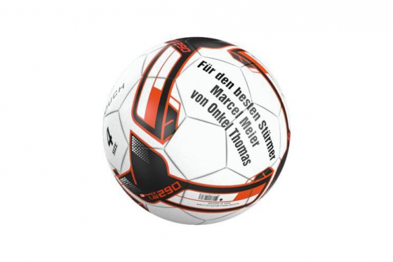 Fussball Bambini - Personalisierbar mit Text