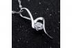 Silber Halskette - mit Zirkonia-Anhänger 1 [article_picture_small]