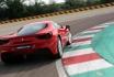 Ferrari 488GTB-4 tours sur circuit 1
