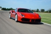 Ferrari 488GTB-4 tours sur circuit 2