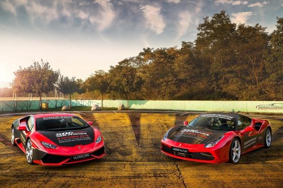Ferrari & Lamborghini - 4 tours sur circuit  [article_picture_small]