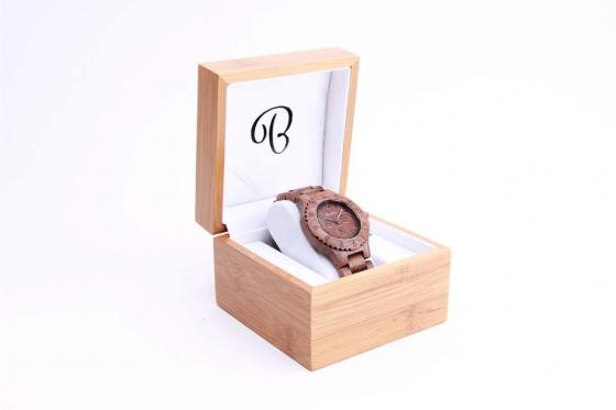 Bambuu Holzuhr - Chronograph Swiss Walnut 1