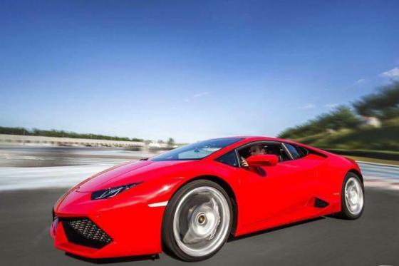 Lamborghini Huracan - 5 Runden auf der Rennstrecke  [article_picture_small]