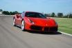 Ferrari 488GTB-5 Runden auf der Rennstrecke 1