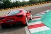 Ferrari 488GTB-5 Runden auf der Rennstrecke 3