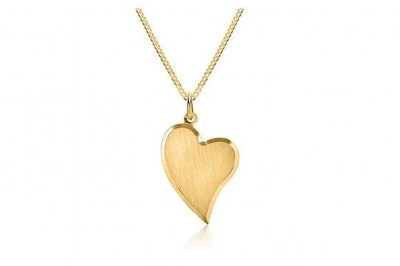 333er Gold Halskette - mit Gravur 1