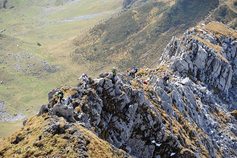 Klettersteig Zittergrat : Klettersteig
