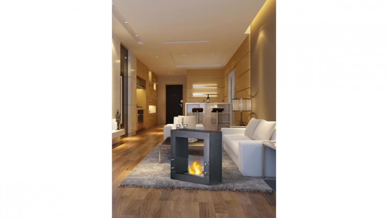 freistehender kamin stilus. Black Bedroom Furniture Sets. Home Design Ideas