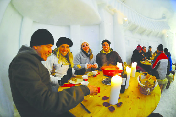 Winter Action in Engelberg - snowXmachine und Iglu Fondue 5 [article_picture_small]