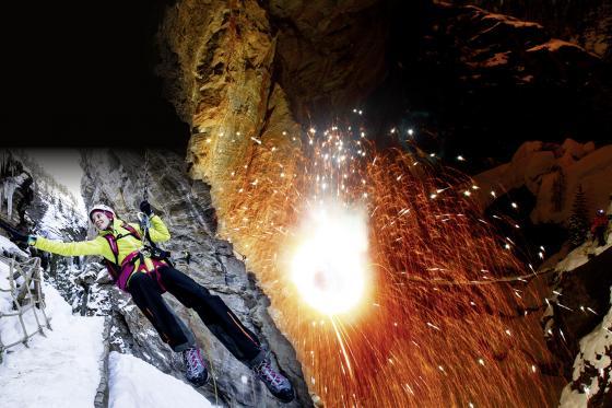 Klettersteig bei Nacht - Gorge Alpine mit Fondueplausch  [article_picture_small]