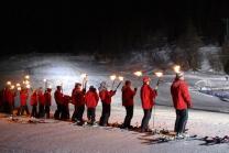 Ski-Fackelabfahrt - mit Fondueplausch im Wallis
