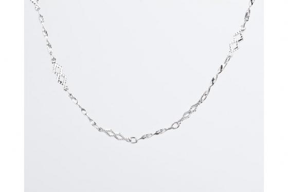 Silber Halskette - in verschiedenen Längen 1