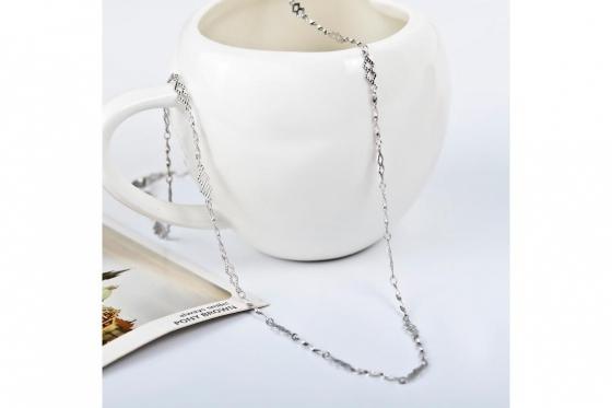 Silber Halskette - in verschiedenen Längen 3