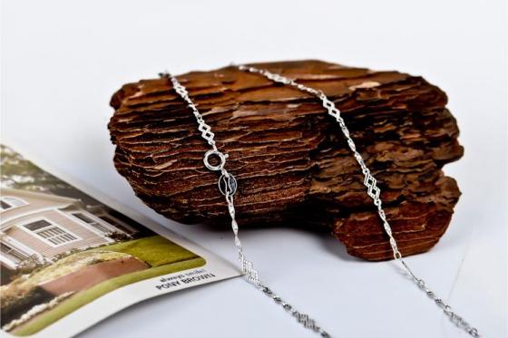 Silber Halskette - in verschiedenen Längen 4