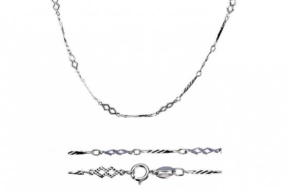 Silber Halskette - in verschiedenen Längen