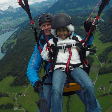 Gleitschirm Passagierflug - Panorama der Zentralschweiz  4 [article_picture_small]