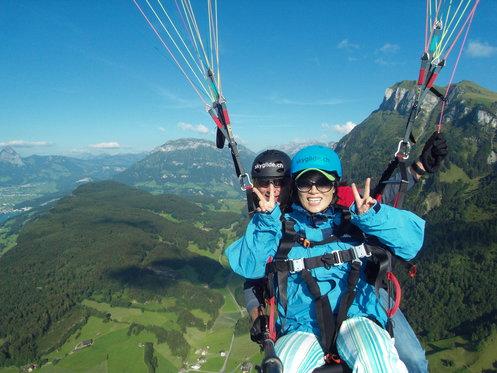 Gleitschirm Passagierflug - Panorama der Zentralschweiz  5 [article_picture_small]