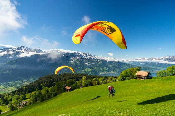 Tandemflug Interlaken - Gleitschirm Geschenk  [article_picture_small]