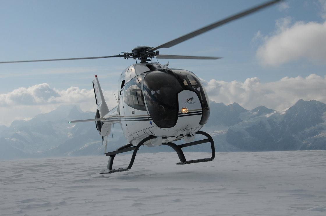 Un Elicottero : Volo di prova in elicottero