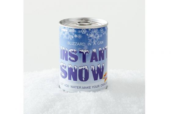 Schnee aus der Dose - 100% Schneegarantie