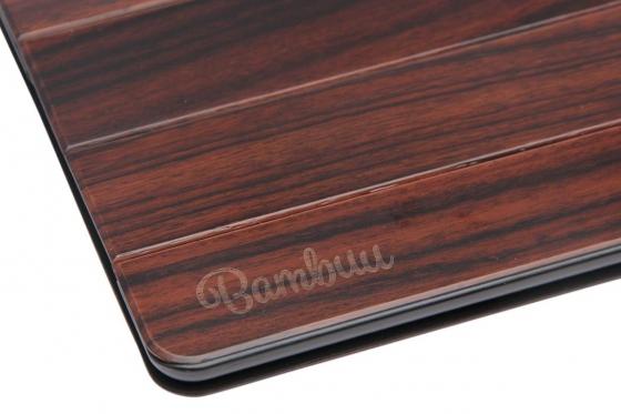 iPAD mini 4 Flip Case  - Edelholz 2