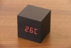 Wooden LED Wecker - The Tiny black 1 [article_picture_small]