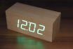 Wooden LED Wecker - The Cube Bambuu 2 [article_picture_small]
