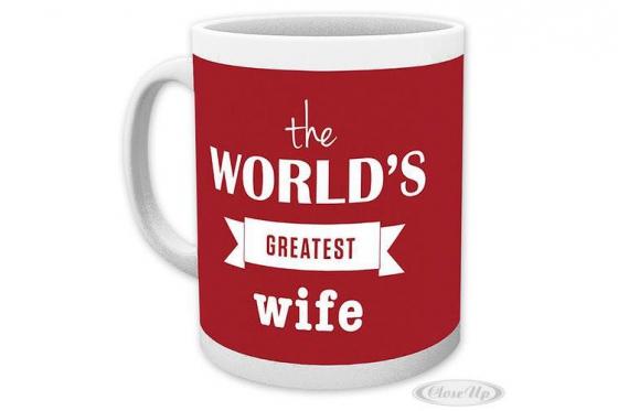 World's Greatest Wife Tasse - aus Keramik