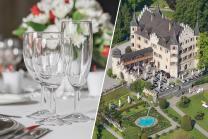 Romantisches 5-Gang Abendmenu - für 2 im Restaurant Schloss Seeburg