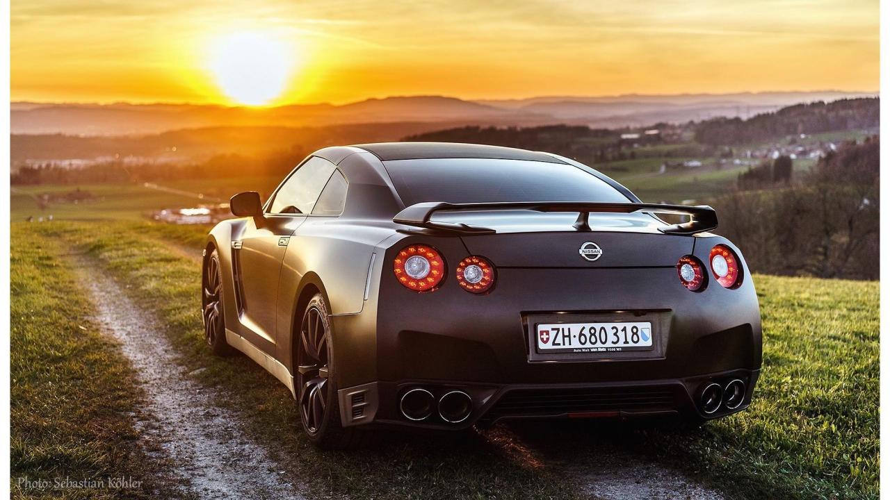 Nissan Gt R Black Edition Mit 666 Ps Für 2 S Geschenkparadiesch