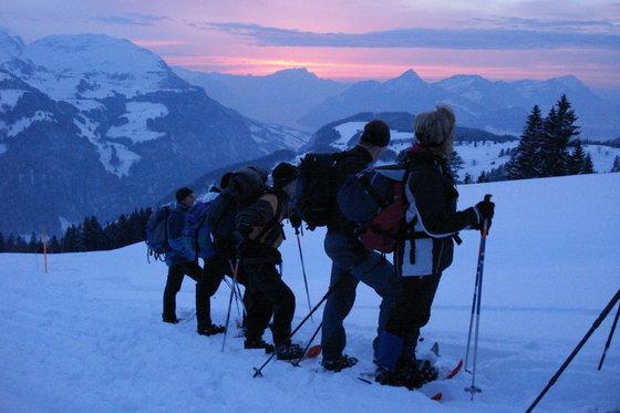 Vollmond Schneeschuh Tour - inkl. Fondueplausch  [article_picture_small]