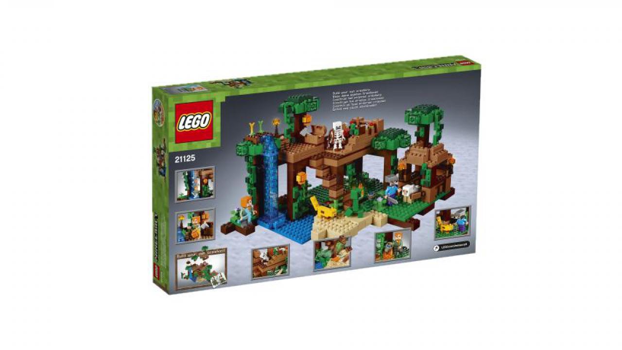 ... Das Dschungel Baumhaus   LEGO® Minecraft™ 1 ...