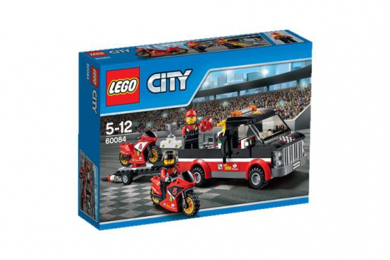 Le transporteur de motos de course - LEGO® City