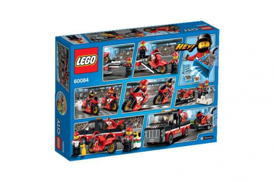 Le transporteur de motos de course - LEGO® City 1