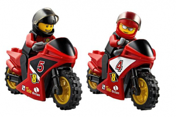 Le transporteur de motos de course - LEGO® City 2
