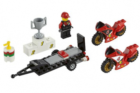 Le transporteur de motos de course - LEGO® City 3