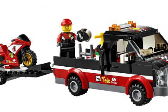Le transporteur de motos de course - LEGO® City 4