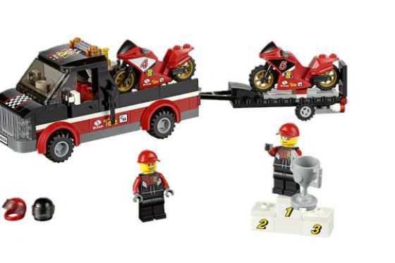 Le transporteur de motos de course - LEGO® City 5