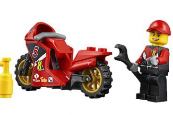 Le transporteur de motos de course - LEGO® City 6