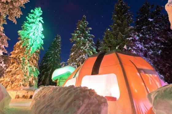 Schlafen unter den Sternen - Übernachtung im Alti-Dôme für 2 1 [article_picture_small]