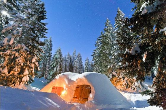 Nuit en igloo à Chamonix - pour deux personnes  [article_picture_small]
